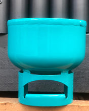Load image into Gallery viewer, Lil Gas Medium Planter - Turquoise