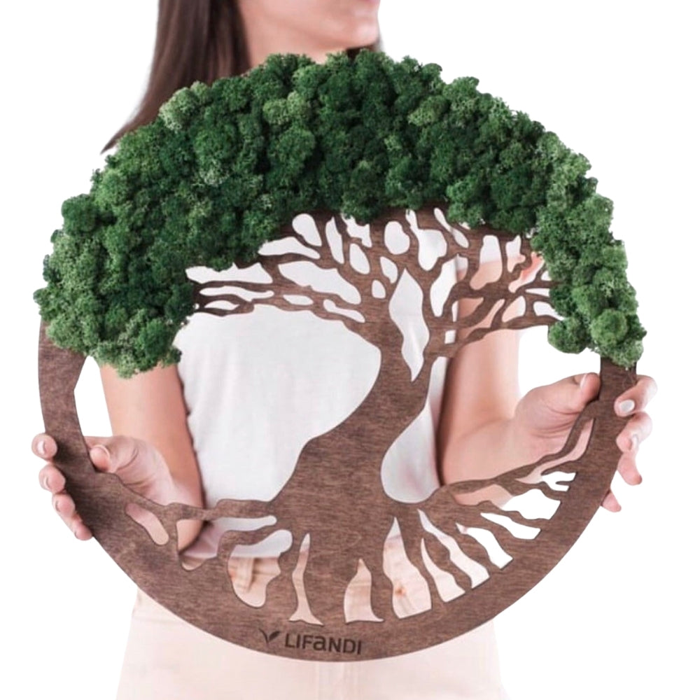 Tree of Life Moss Wall Art