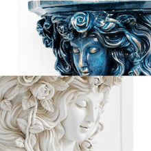 Load image into Gallery viewer, Our Goddess Mural Flower Pots will add a touch of European elegance to your home gardening decor. These wall planters can be filled with your favorite greenery and attached to any wall with a study wall fixture. Wonderful accent piece for a vertical wall garden or living wall indoors.