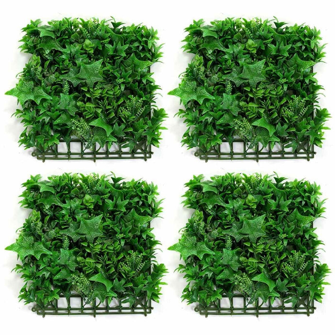 Artificial grass backdrop for wall landscaping. Create a lush wall landscape and give your home a fresh garden and airy feel with our Artificial Grass Backdrop. Each piece measures 10 x 10