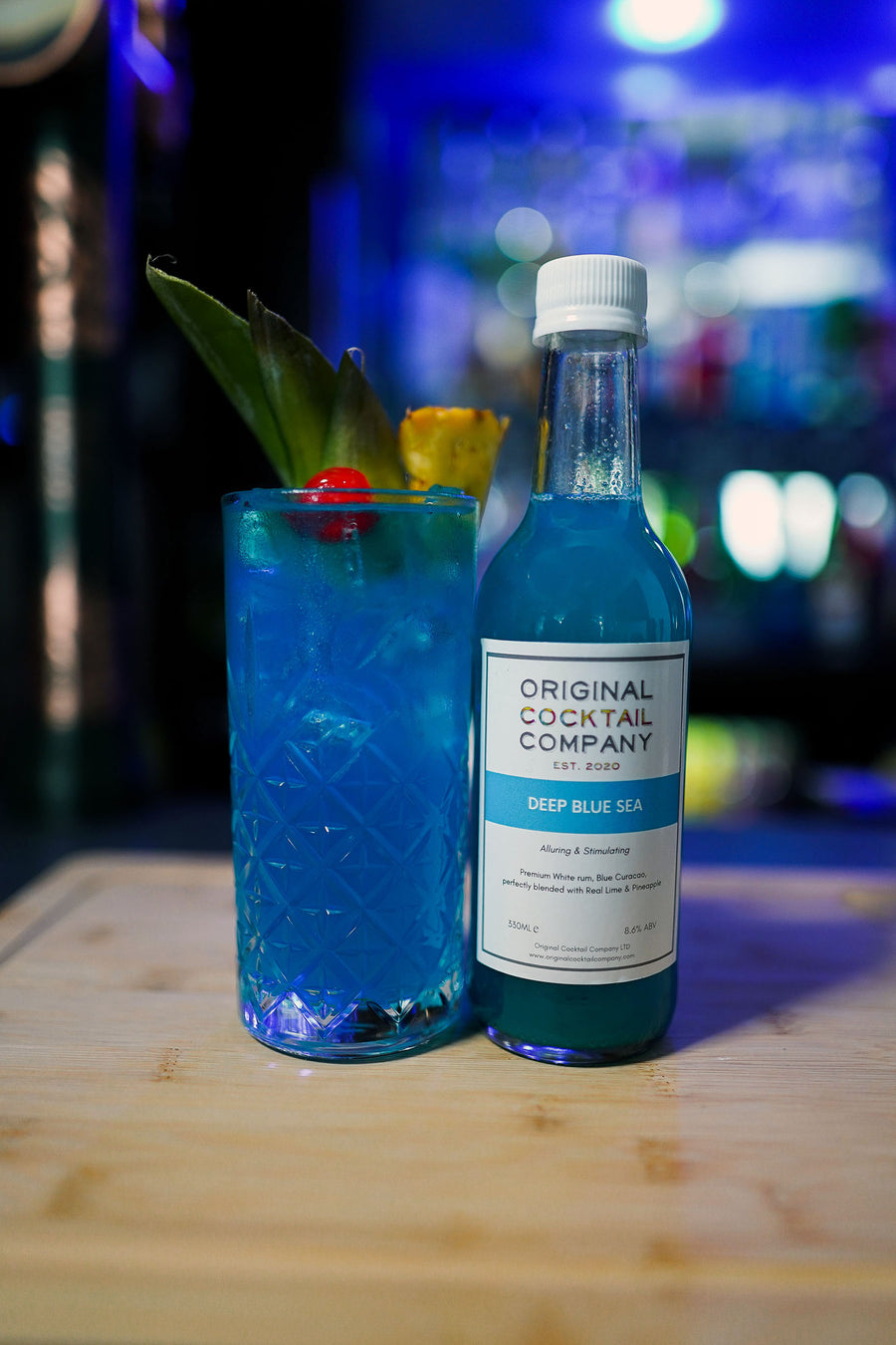 deep blue sea cocktail