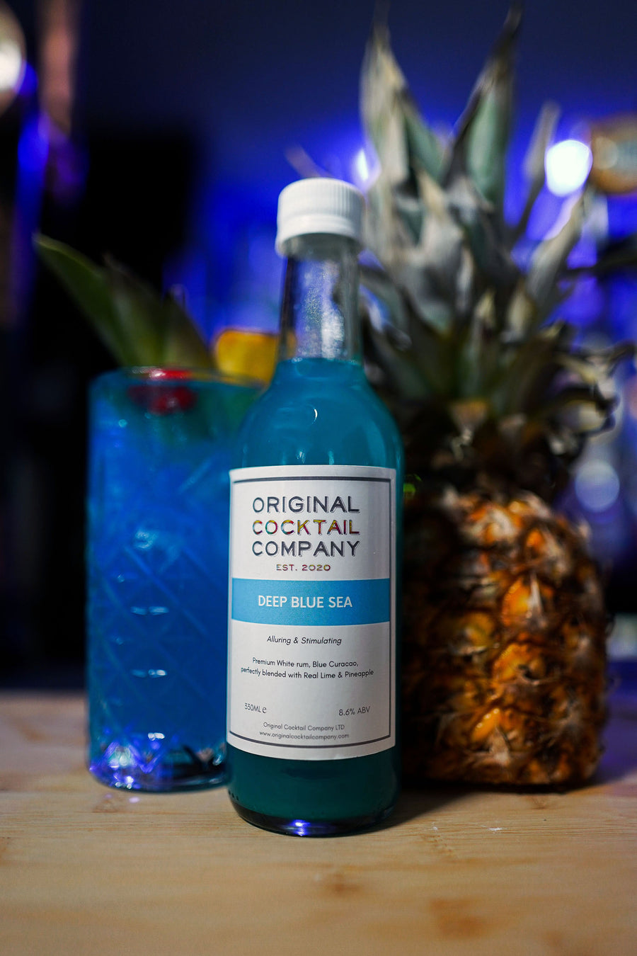 blue curracao cocktail