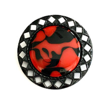 Load image into Gallery viewer, Geo Brooch - Tech Pride