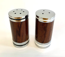 Load image into Gallery viewer, Salt & Pepper Shaker Set - Indonesian Rosewood
