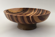 Load image into Gallery viewer, Patchwork Quilt - Multi Wood Bowl