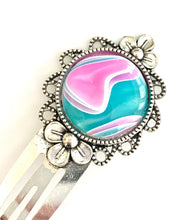 Load image into Gallery viewer, Hair Clips (Pair) - Cotton Candy