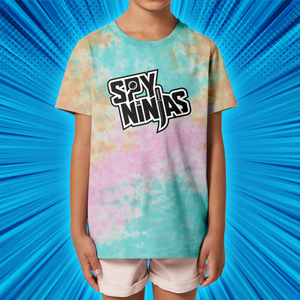 Spy Ninjas Youth Tie-Dye T-Shirt - Snow Cone