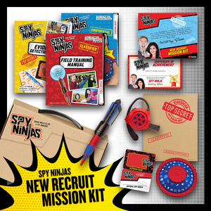 Spy Ninjas New Recruit Mission Kit