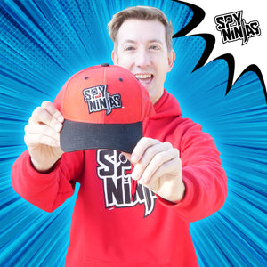 Cap - Spy Ninjas - Red Sublimated / Black Bill