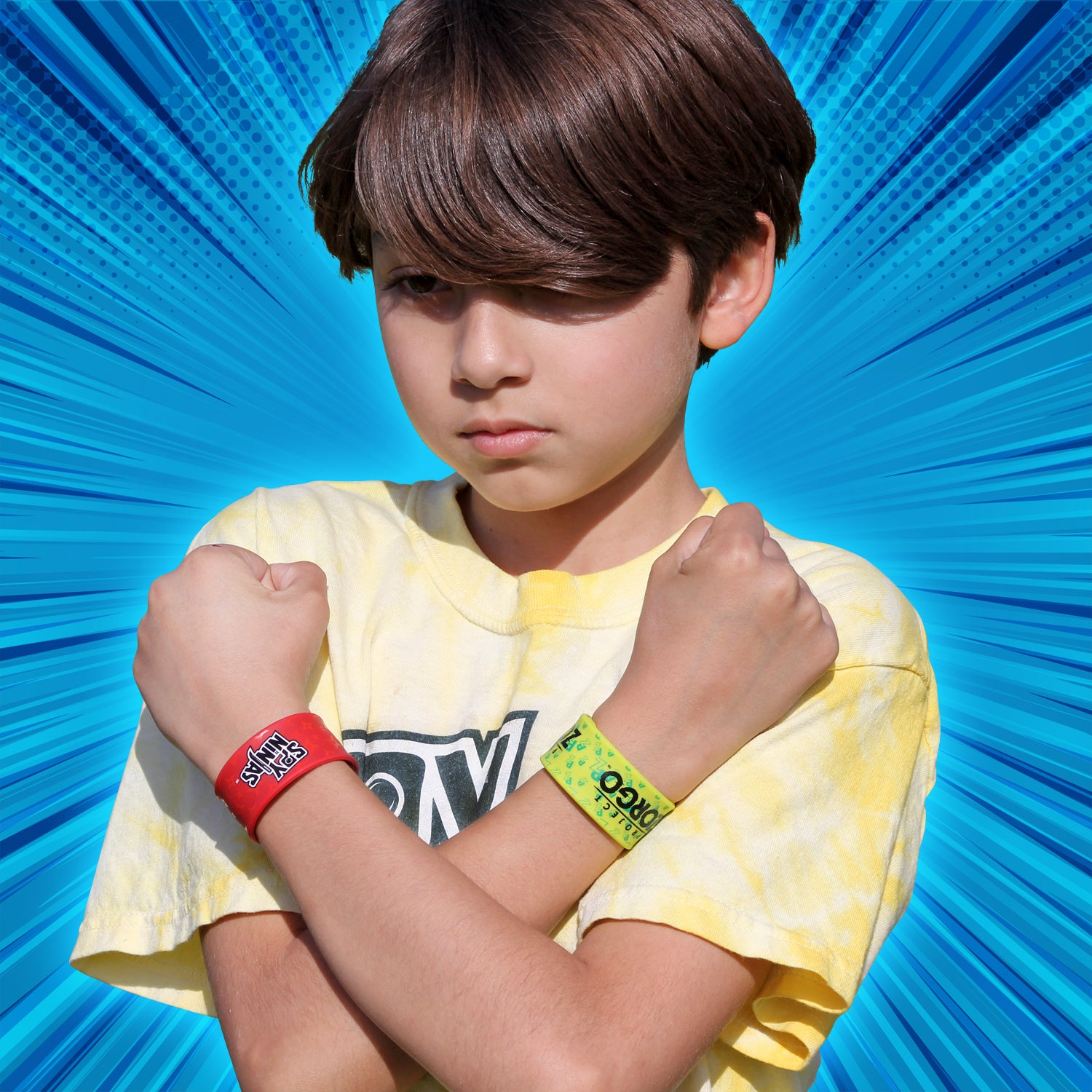 Spy Ninjas / Project Zorgo™ Slap Wristbands