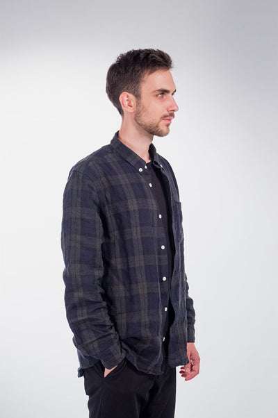 Blackwatch Heavy Linen Shirt - COPE