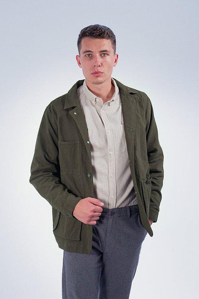 Canvas Jacket Olive - COPE