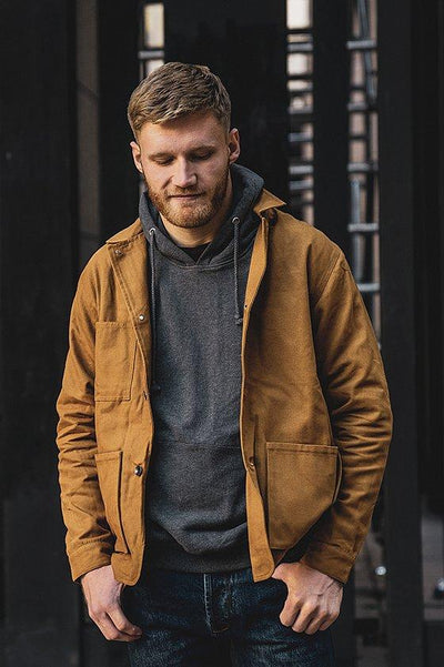 Canvas Jacket Rust - COPE