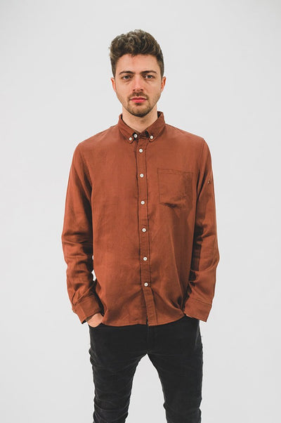 Japanese Linen Tencel Shirt - COPE