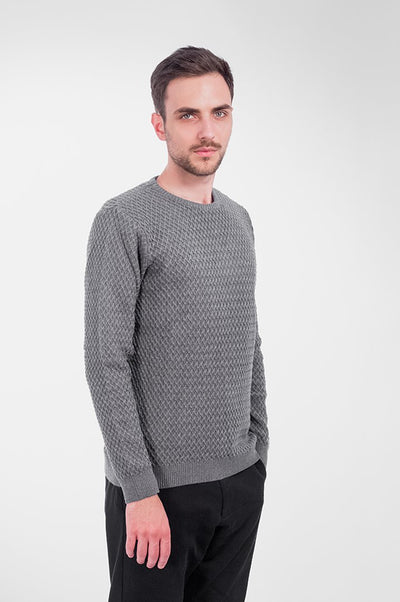 Small Diamond Knit Šedý - COPE