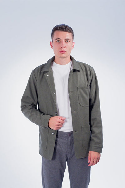 Wool Utility Jacket - COPE