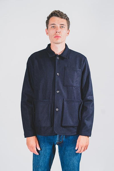 Wool Workwear Jacket - COPE