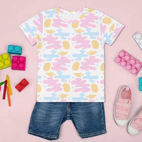 Pastel Dreams Kids Unisex All Over T-Shirt