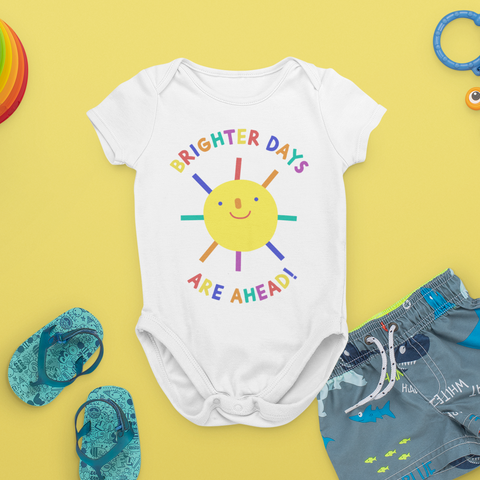 Brighter Days Ahead Baby Onesie