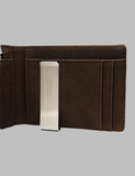 Brown Leather Wallet Inside Right