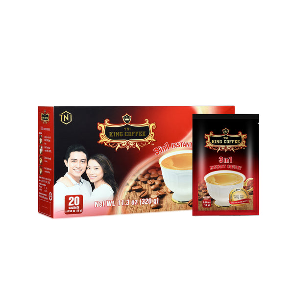 King Instant coffee 3 in 1