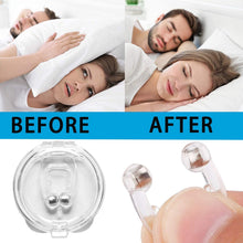 Load image into Gallery viewer, Anti Snore Devices, 4pcs Magnetic Nose Clip