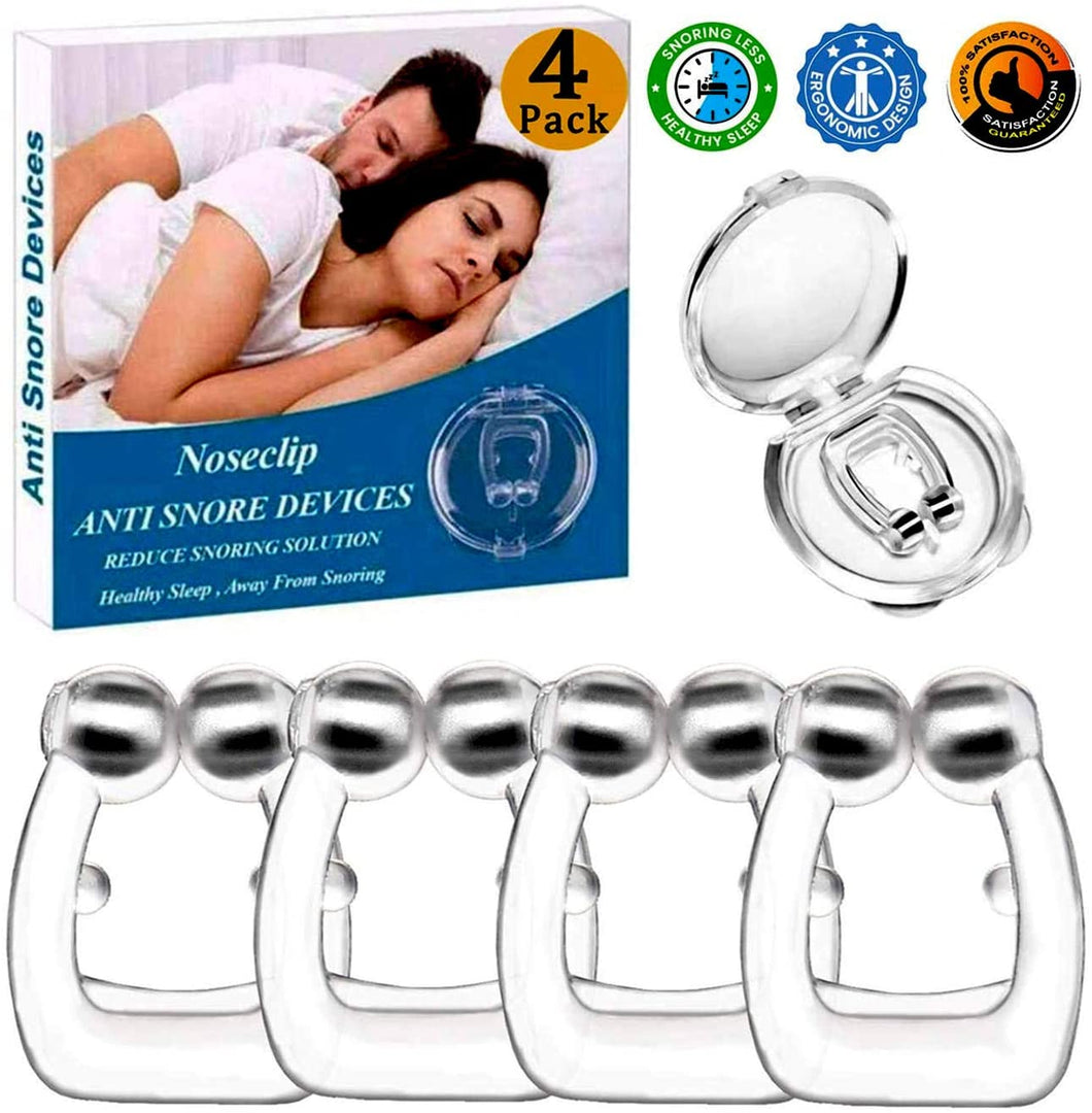 Anti Snore Devices, 4pcs Magnetic Nose Clip