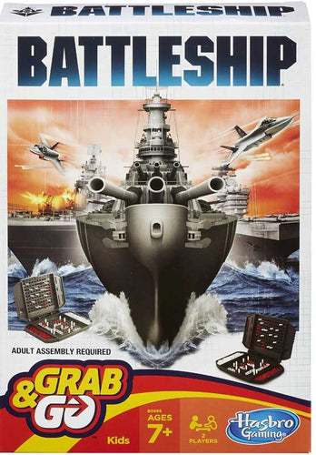 Battleship Grab and Go Travel Board Game, Lead your fleet to victory on the move with this compact Battleship Grab & Go game. Command your battle.