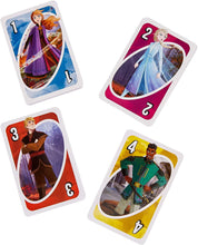 Load image into Gallery viewer, Mattel Games GKD76 UNO Disney Frozen II Card Game, Multi