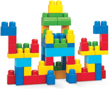 Load image into Gallery viewer,  First Builders blocks for hours of play • A classic primary color scheme • Eco-friendly, ... Item model number, DCH55 ... I noticed after I bought this that the 80 piece (which has a little car included)