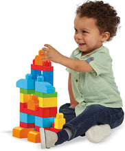 Load image into Gallery viewer, Shop for MEGA BLOKSMEGA BLOKS Trendy Building Blocks Bag (DCH55). from Mega Bloks 60 Piece First Builders Pink First Builders Blue Big Building Bag Piece Assorted