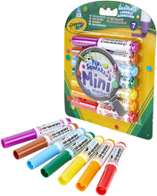 Load image into Gallery viewer, Crayola Mini Markers Pack of Seven (7)