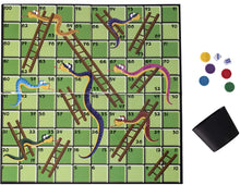 Load image into Gallery viewer, Traditional Games Snakes & Ladders Family Board Game Set