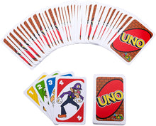 Load image into Gallery viewer, UNO card games Kids Family games Plastic cards Night games Indoor Games players