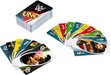 Load image into Gallery viewer, Mattel Games UNO WWE Card Game Family Funny Entertainment Board Game Poker Kids Toys Playing Cards