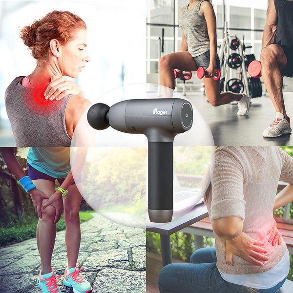 Nager Massage Gun Deep Muscle Relief Massager