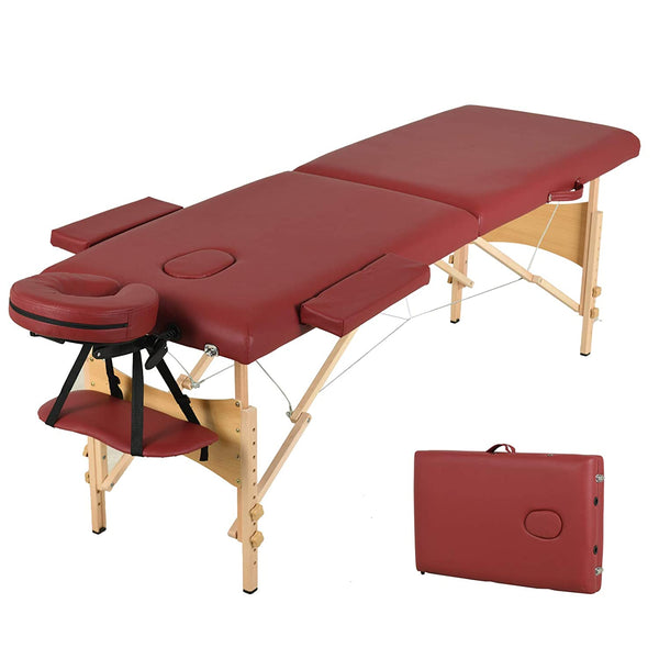 Nager Professional Massage Bed with Head & Armrest