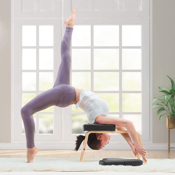 Nager Yoga Headstand Chair with PVC Pads