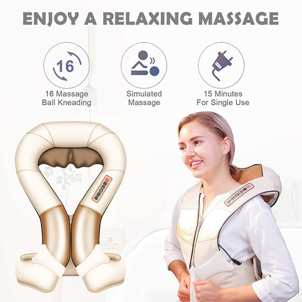 Nager Electric Neck Shoulder and Waist Massager