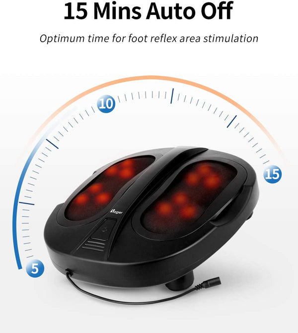 Nager Foot Massager 6D Simulated Human Massage Head