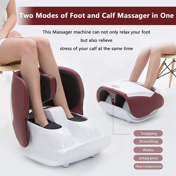 Nager Easy-Control Massager for Foot and Calf