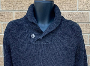 MEN HIGH COLLAR JUMPER
