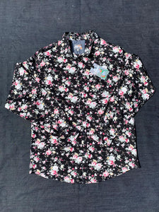 ROSE FLORAL PRINT LONG SLEEVE SHIRT