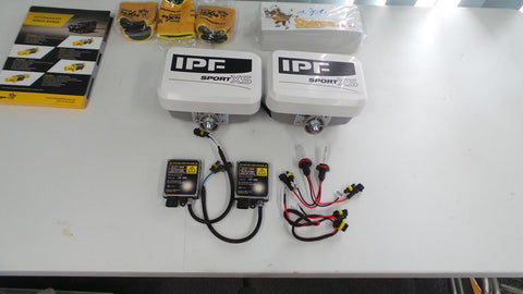 IPF 800XS Lights and HID upgrade kit