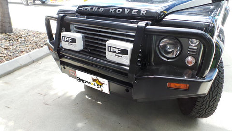 Sherpa 4x4 - IPF 800XS Extreme Sports Spot Ligh HID Upgrade on bosch wiring, power wiring, ford wiring,