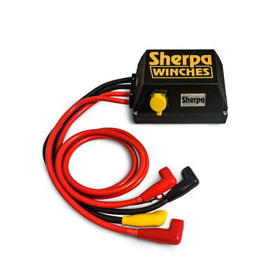 The Mustang 28m Dyneema rope 4WD winch Control Box