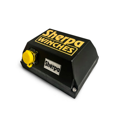 Sherpa winch electric solenoid control box