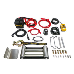 offroad winch kit steel cable