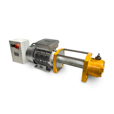 electric hoist winch single phase 240v AC
