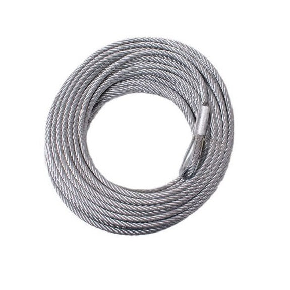 sherpa 4x4 steel winch cable heavy duty suits warn tjm ironman winches